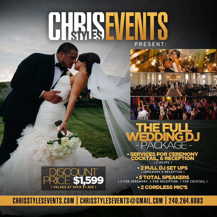 Weddings Chris Styles Djs
